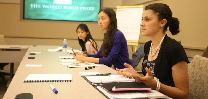 Global Youth Institute hosted by the World Food Prize Foundation