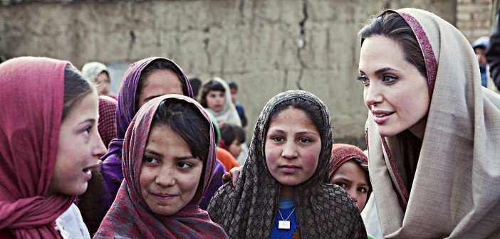 Angelina Jolie opens an all-girls school