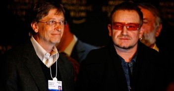 Bill Gates and Bono