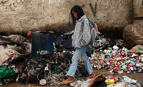 essay about poverty in america