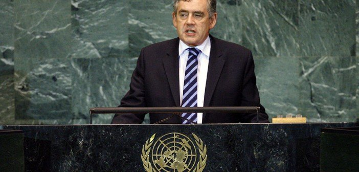 Gordon Brown: Initiative to Educate the World's Poor