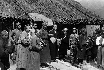 the dalai lamas government in exile essay The dalai lama is the fourteenth leader in a line of buddhist spiritual and political   since that time, while still in exile (a forced or a voluntary absence from one's   of tibet invited the army to save them from the rule of a cruel government.