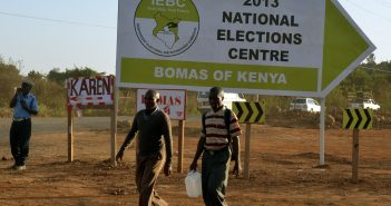 U.S. Announces Election Aid for Kenya