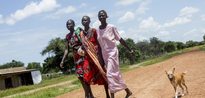 South Sudanese Women Learning Crucial Farming Techniques