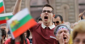Bulgarian Protests against Poverty and Corruption