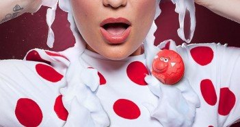 Jessie J Participated in Red Nose Day