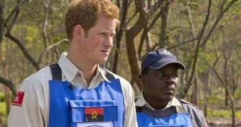 Prince Harry Follows Diana's Footsteps in Angola