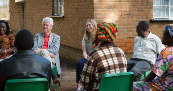clinton trip to africa
