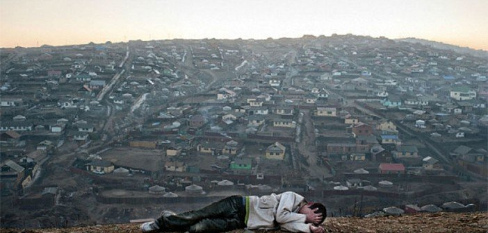poverty in Mongolia