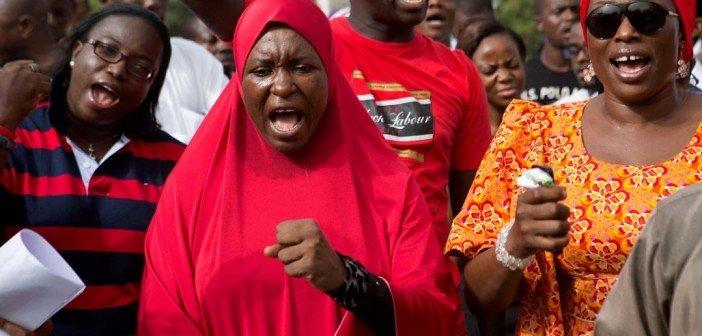 kidnapped nigerian women