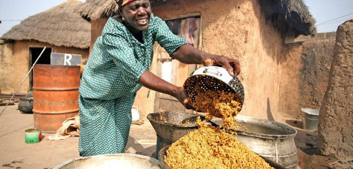 Rice Production in Ghana
