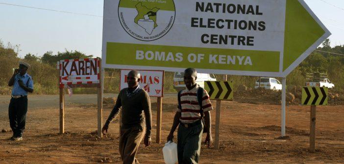 U.S. Announces Election Aid for Kenya