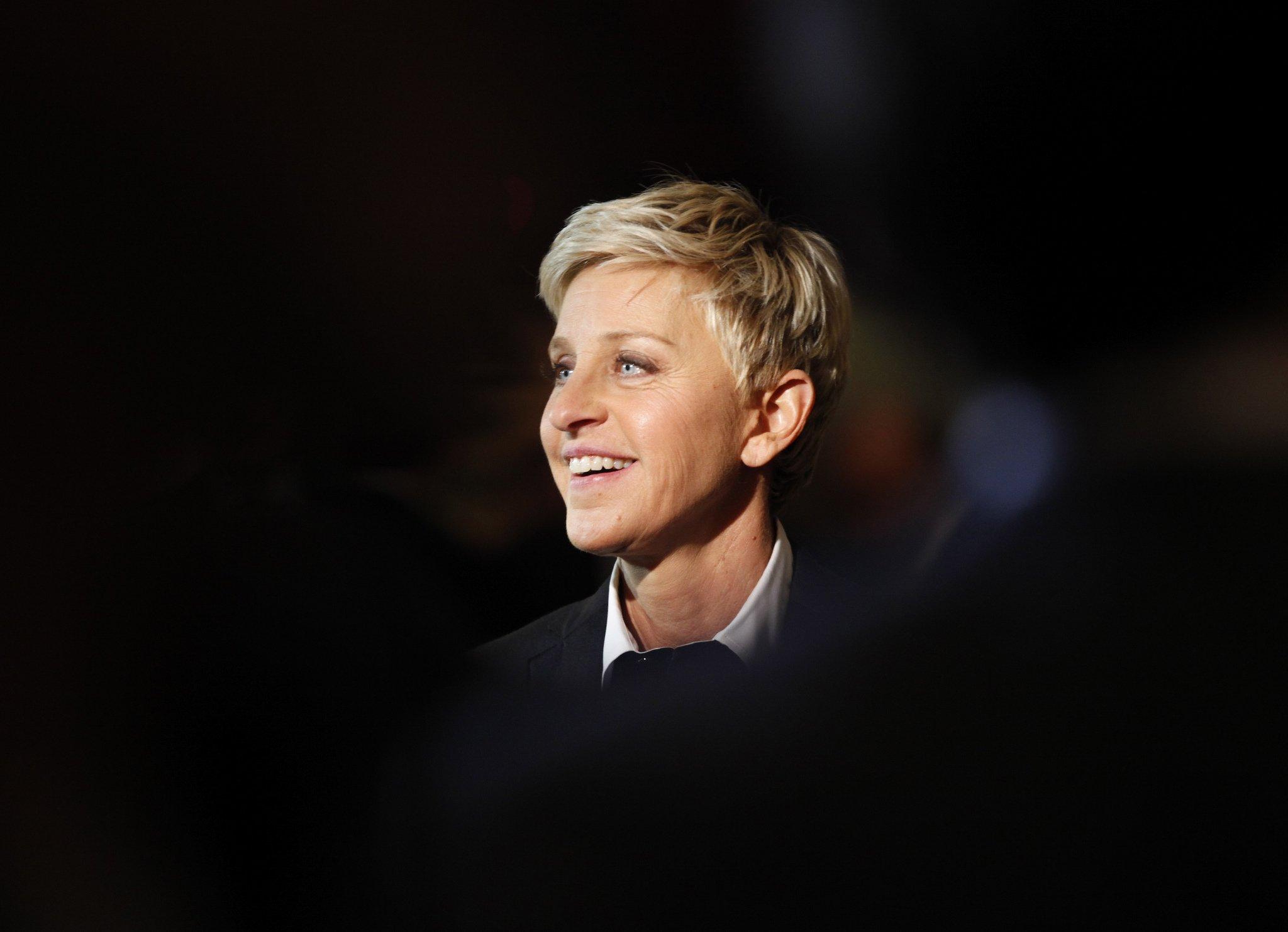 Ellen DeGeneres 2012 Imię i nazwisko Ellen Lee DeGeneres Data i miejsce urodzenia 26 stycznia 1958 Metairie Stany Zjednoczone Zawód aktorka scenarzystka