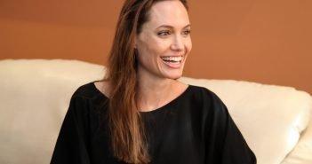 Angelina Jolie Visits Refugees in Nairobi
