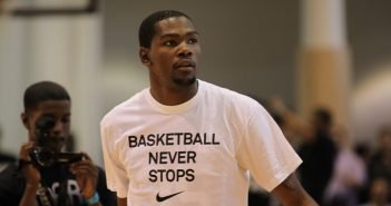 Kevin Durant Charity Foundation Builds Basketball Courts