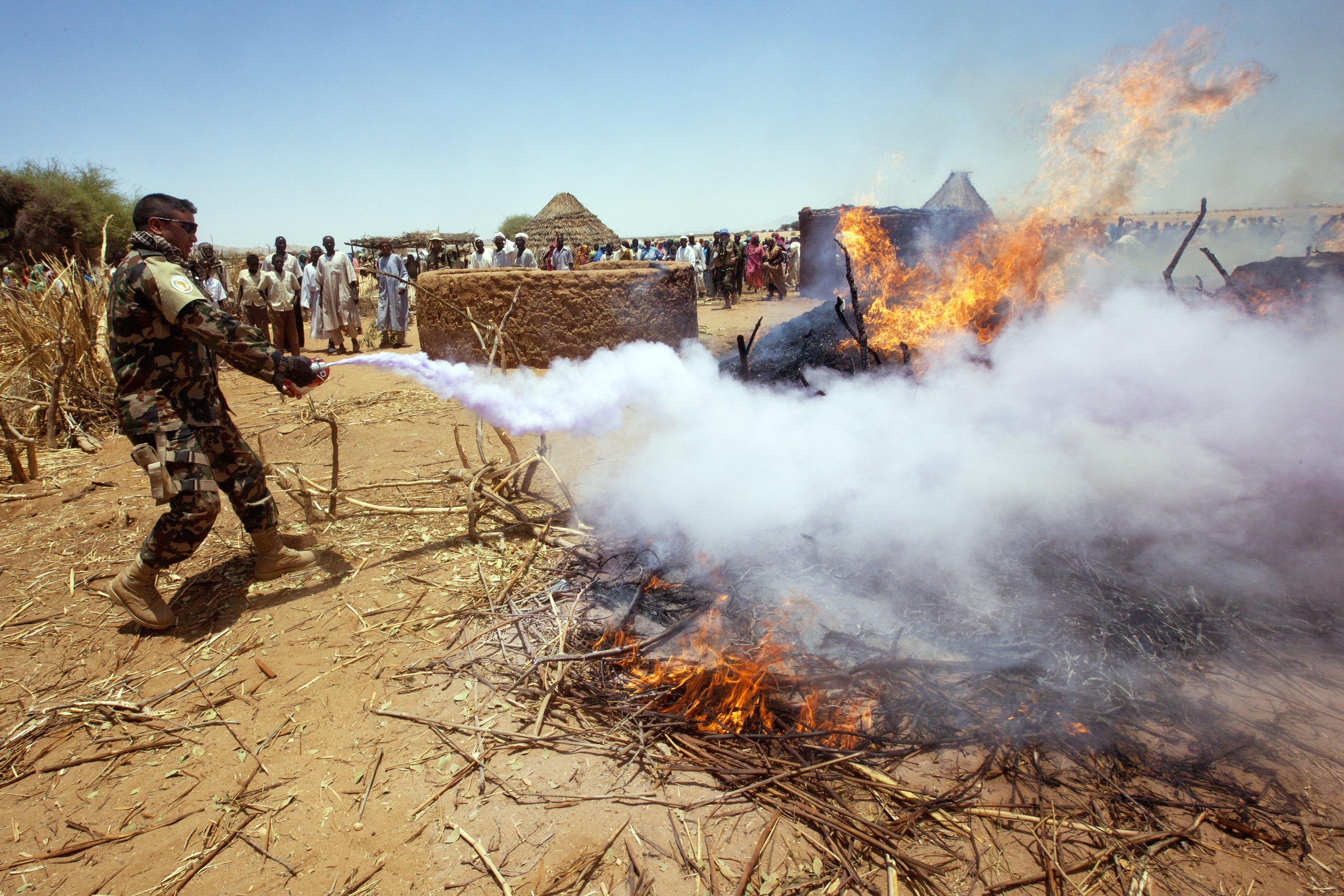 Конфликт в дарфуре фото