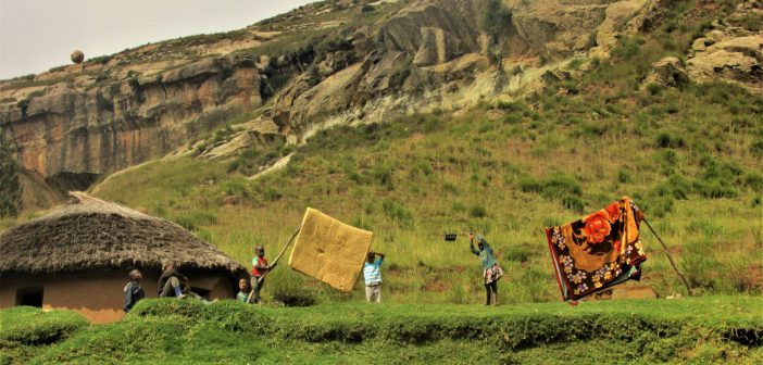 humanitarian aid to Lesotho