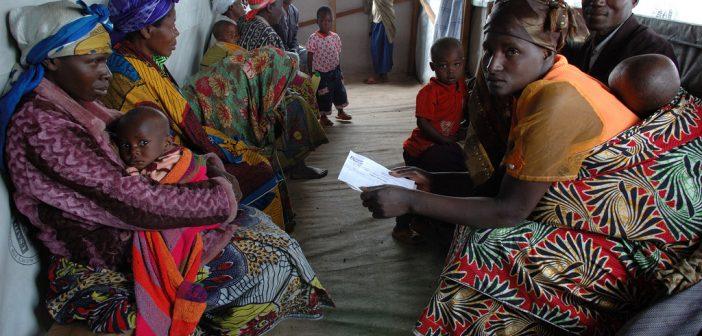 Actress Gugu Mbatha-Raw Visits Refugees in Rwanda