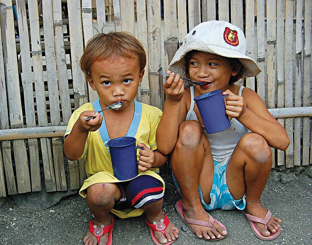 hunger in the Philippines