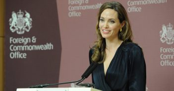 Angelina Jolie Urges Support