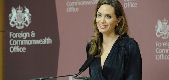 Angelina Jolie Urges Support