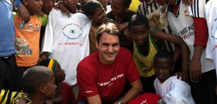 Roger Federer's Foundation