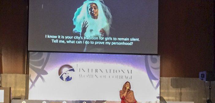 Sonita Alizadeh's advocacy