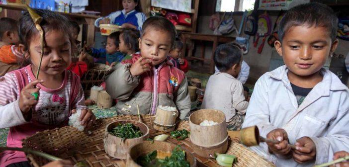 hunger in laos