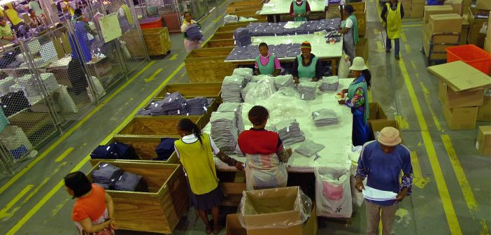 human trafficking in textile industry