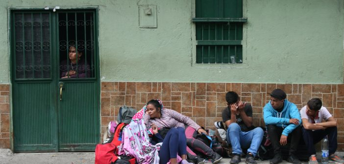 Homelessness in Venezuela