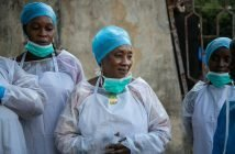 PPE training in Guinea