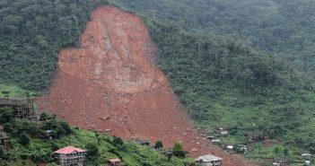 Mudslide in Sierra Leone