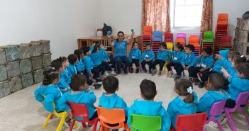 How Les Maristes Bleus are Helping Syrian Children