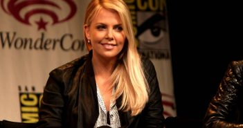 Charlize Theron Helps
