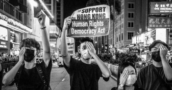 violation of rights and freedoms in Hong Kong