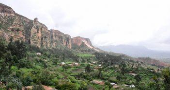 Desertification in Ethiopia