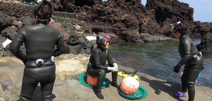 Women divers in South Korea called haenyeo, work to feed their families and broke down traditional gender norms.